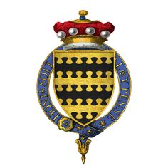Coat of arms of Sir William Blount, 4th Baron Mountjoy....