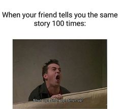 Friends Funny Moments, Friends Tv Quotes, Friends Scenes, Funny Friend Memes, Friends Cast, Friends Episodes, Friends Tv Show, Really Funny Memes, Stupid Funny Memes