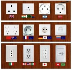 Electrical outlets in the world