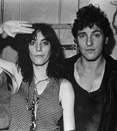 songssmiths:  Patti Smith and Bruce Springsteen