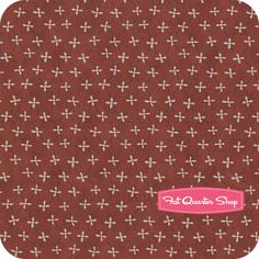Home to Roost Red Daisy Weave Yardage SKU# 23452-RED1 $10.75/yd