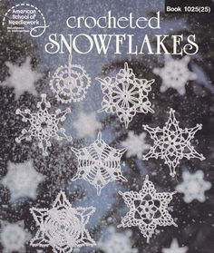 16 Snowflakes Crochet Patterns - Christmas Ornaments