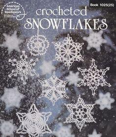 16 Snowflakes Crochet Patterns - Christmas Ornaments