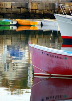 boats in Rockport