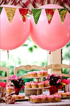 Pink First Birthday by Style Me Pretty