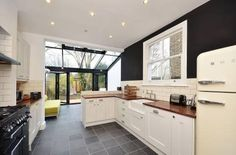 kitchen in victorian terrace - Google Search