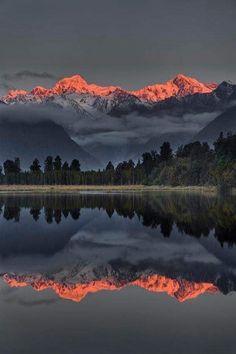 Alpine Glow in Montana