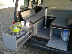 Mini camper conversion unit/caddy,berlingo,parner in Donegal, thumbnail 1