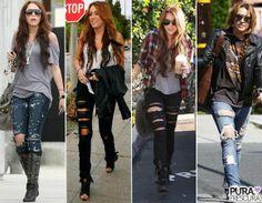 Jeans rasgado jamais sai de moda! Aposte nesse look descolado.