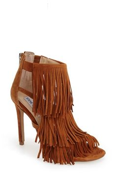 Steve Madden 'Fringly' Sandal (Women) available at #Nordstrom...fringe on an open toe shoe is just tacky.