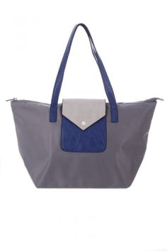 Bags :: Poppy Ultra-Light Shopper Grey - The Redletter Club $89.95