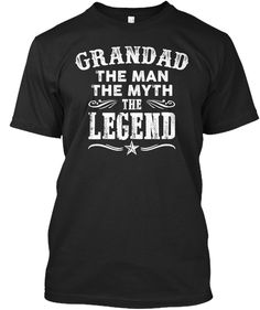 GRANDAD, THE LEGEND!: Teespring Campaign