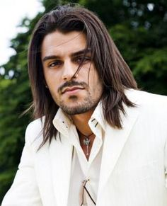 Long Hairstyles For Men With Straig Hair