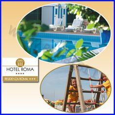 L'Hotel Roma di Cervia, è il luogo ideale dove trascorrere le vacanze all'insegna dell'ospitalità, del risparmio e del divertimento. FAMILY HOTEL CERVIA: VACANZE PER FAMIGLIE CON BAMBINI I BIMBI.. da noi sono ospiti di riguardo