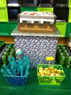 Minecraft Party www.facebook.com/kupcaken