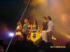 São Paulo, Brasil (29.11.08) - 311 - RBD Fotos Rebelde | Maite Perroni, Alfonso Herrera, Christian Chávez, Anahí, Christopher Uckermann e Dulce Maria
