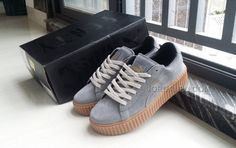 2fc789f911edc Find Puma Fenty By Rihanna Suede Creepers Grey online or in Footlocker.  Shop Top Brands and the latest styles Puma Fenty By Rihanna Suede Creepers  Grey of ...