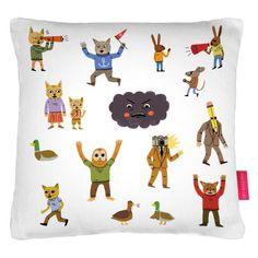 Ohh Deer - Funky Bunch Cushion, (£35)