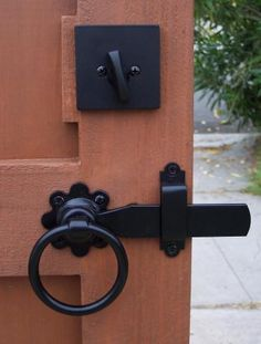 Drive Gates, Wood Gates, Gate Latch, Driveway Gate, Pedestrian, See Through, Fences, Entrance, Door Handles