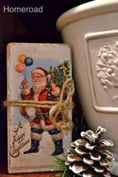 homeroad: Christmas Postcard Blocks
