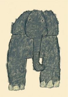 'Elephant' by Japanese artist Yusuke Yonezu. via the artist's site