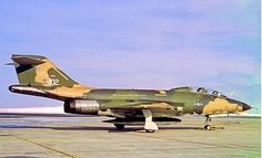 USAF McDonnell RF-101B Voodoo of the 194th TRS Nevada Air National Guard, 1973.