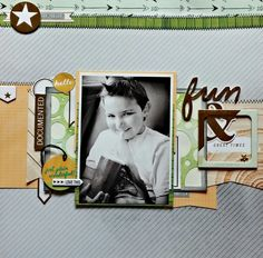 Made with my 2015 April Hip Kit, American crafts, Amy tangerine, websters pages and a few things from my stash