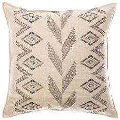 "Coral & Tusk - Herringbone Diamond Pillow 20""x20"""
