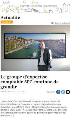 Le Groupe SFC était dans la Tribune de Lyon et maintenant dans Salade Lyonnaise avec cette interview de Charles-Alexandre Giaux par François Sapy !