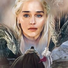 Game of Thrones season 8 For the Throne Queen of Dragons Daenerys Targaryen Drogon Rhaegal Drogon Game Of Thrones, Game Of Thrones Dragons, Got Game Of Thrones, Game Of Thrones Quotes, Queen Of Dragons, Got Dragons, Mother Of Dragons, Jon E Daenerys, Daenerys Targaryen Art