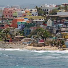 The color of poverty: La Perla  La Perla (The Pearl)  Old San Juan, Puerto Rico  by Steve Grundy