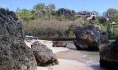 Padang Padang - The Rock Crevice Beach In Bali