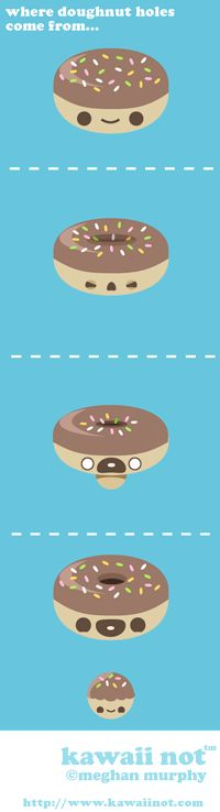 How donut holes are made!
