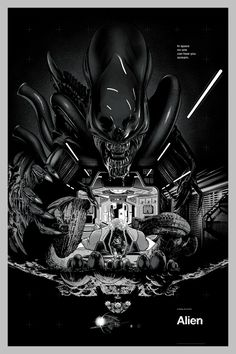 Alien : Martin Ansin, Illustrator | Illustration Portfolio