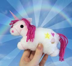 Tutorials | Urban Threads: Make yourself a fluffy unicorn plushie!! Everyone loves tiny unicorns.