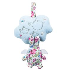 Buy beautiful Trousselier Bunny angel Musical cloud. From £26. Perfect gift for birth, christening & any special occasion. The lovely bunny angel by Trousselier measures 18 cm (height) and is sold in a lovely gift box.