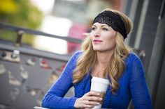 Noir Lacy from Bolder Band™ Headbands Navy, Moca, Latte Lacy bands - lovely!