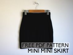 Here's a quick project to initiate yourself to knitted fabrics. The mini skirt is very easy to make and has only 4 pages! To make this skirt, you will need some 4-way knit with spandex, which means that the knit must stretch lengthwise and crosswise. The waistband is stabilized with a soft knitted elastic. Don't forget to have to hand a stretch needle, textured thread and step up the game with a double needle to hem the bottom of the skirt.If you never used the double needle or had is...