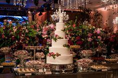 Casamento   Flores   Bolo   Decoração   Wedding   Cake   Decoration   Flowers