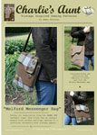 This will work great with the wools that I have been collecting from old jackets etc.. Pendleton, Harris Tweed... Charlies Aunt Melford Messenger Bag - Downloadable Pattern [1PA-Download-CA-MMB] - $9.00 : Pink Chalk Fabrics is your online source for modern quilting cottons and sewing patterns., Cloth, Pattern + Tool for Modern Sewists