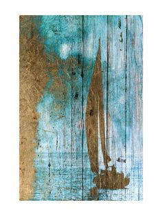 Smooth sailing on an old barn board painting. - Smooth sailing on an old barn board painting…. Smooth sailing on an old barn board painting…. Pallet Painting, Painting On Wood, Painting & Drawing, Wood Pallet Art, Action Painting, Driftwood Crafts, Sea Art, Blue Wood, Beach Crafts