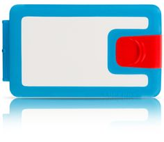 The young and active RHYTHM & Blues LB0094: red, blue and white  silicone wallet - Lockbox - $39.90 - We are shipping worldwide!