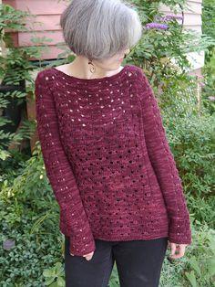 Sangria Sweater Free Knitting Pattern
