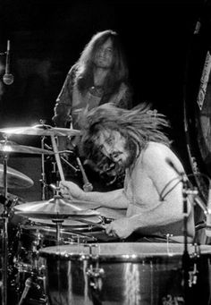 John Bonham and John Paul Jones