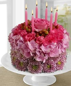 34 Best Flower Cakes Images