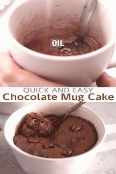 #Desserts #to #make #chocolate #cake This microwave Chocolate Mug Cake will become your new obsession its the easiest and fastest way to make dessert for one or two and you wont believe how delicious it is This mug cake recipe is made with chocolate chips and no eggsbrp classfirstletterPlease scroll down we have other content on our page about deliciousprecipe and The max handsomely Pictures at PinterestbrIt is one of the tops quality figure that can be presented with this vivid and… Microwave Chocolate Mug Cake, Mug Cake Microwave, Chocolate Mug Cakes, Chocolate Recipes, Chocolate Chips, Nutella Recipes, Dessert Simple, Quick Dessert, 100 Calories