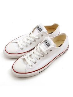 White Converse I'm in love with this kicks <3