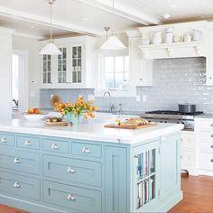 Painted Kitchen Islands