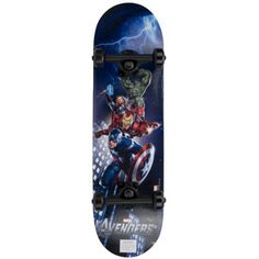 The Avengers SkateboardsI sort of want this