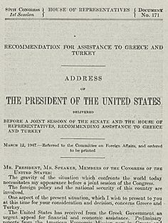 the truman doctrine president harry s truman established  truman doctrine google search